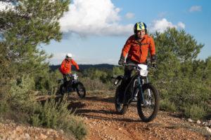 balade quad trotinette moto electique paysage orange capestang languedoc herault